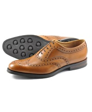 Bovey Brogue - Tan