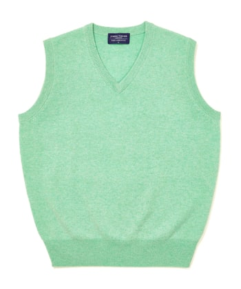 Lambswool - Slipover - Pastel Green