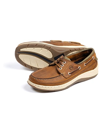 Squamish Deck Shoe - Sand