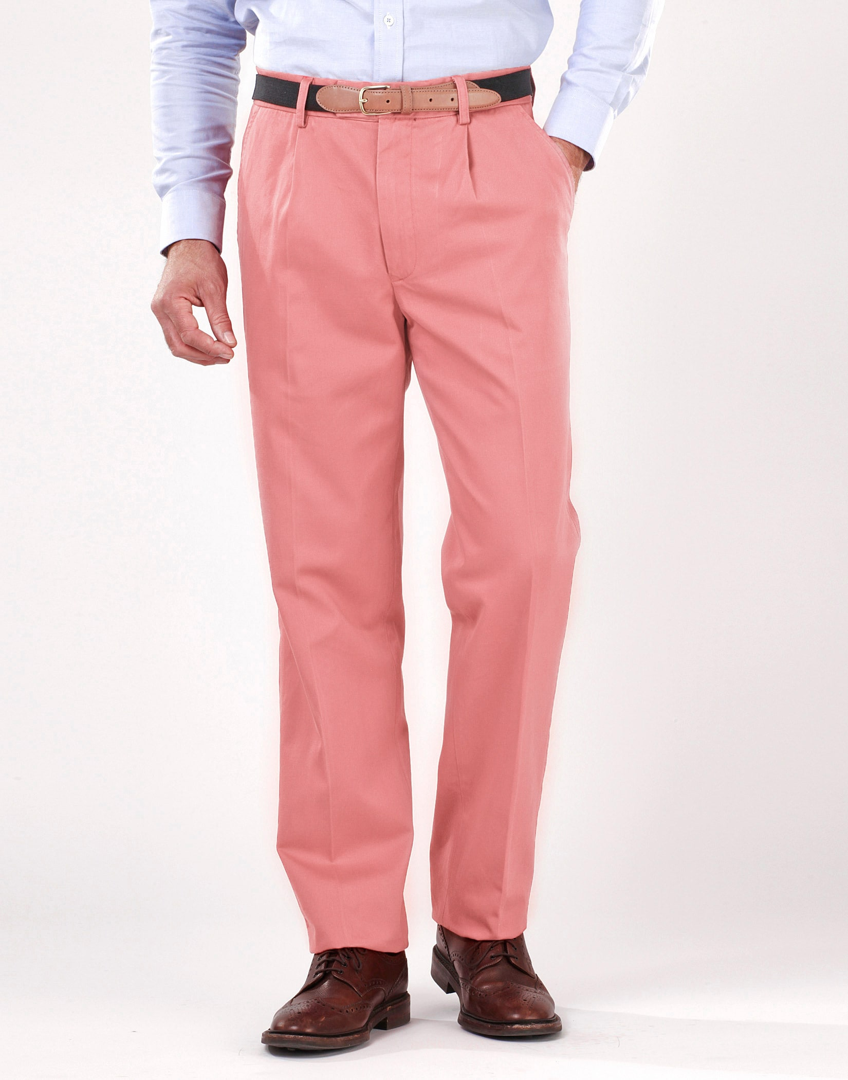 Men S Pleated Front Chinos Joseph Turner