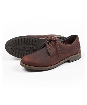 Malvern Walking Shoe - Dark Brown