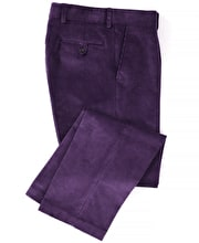 Corduroy Trousers - Purple