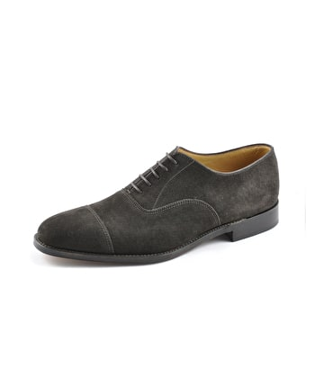 Aldwych Oxford Shoe - Brown Suede
