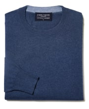 Cotton/Cashmere - Crew Neck
