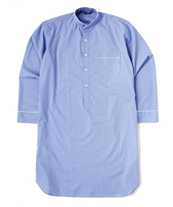 Nightshirt - Savoy Blue - Fine Cotton