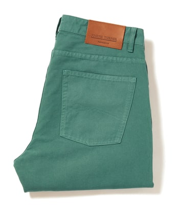 Canvas Jeans - Sea Green