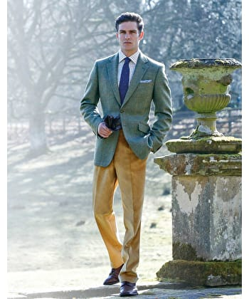 Dales Tweed & Country Jackets - Orange/Gold/Lilac