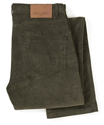 Needlecord Jeans - Dark Olive
