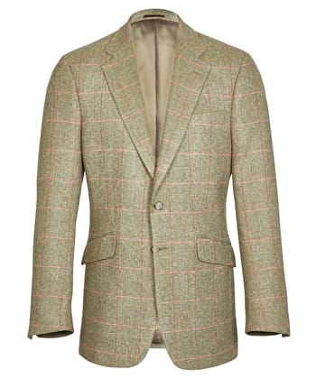 Dales Tweed & Country Jackets - Pink/Orange