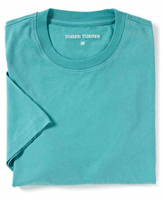 Cotton T-Shirt - Aqua