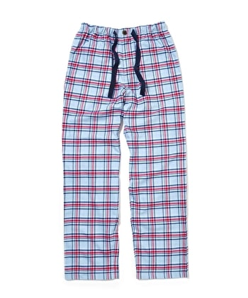 Pull-on Bottoms - Blue/Magenta Check