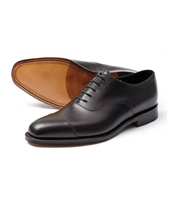 Aldwych Oxford Shoe - Black