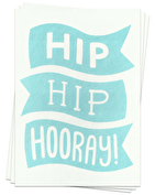 Hip Hip Hooray! - Postcards