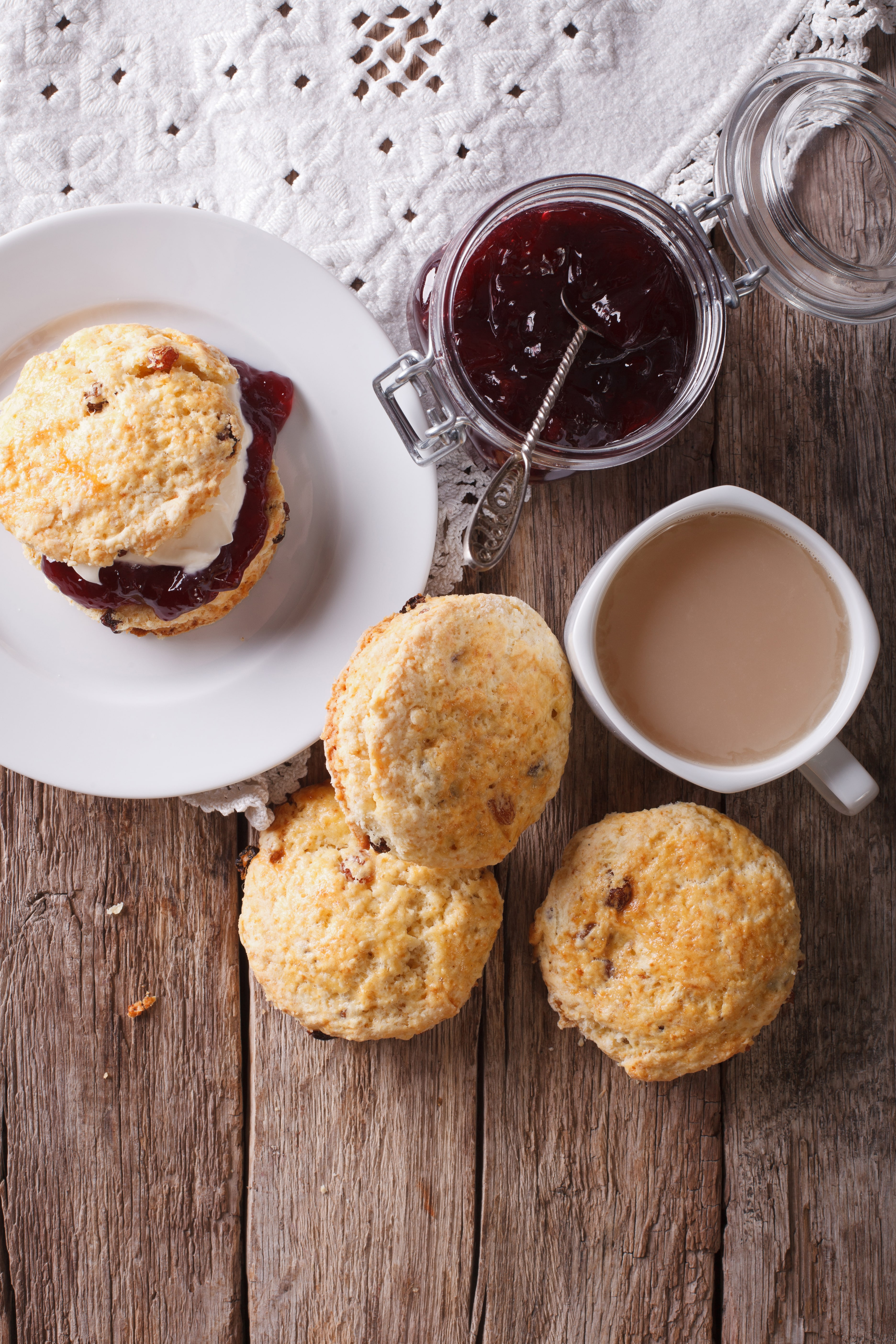 Traditional Fruit Scones