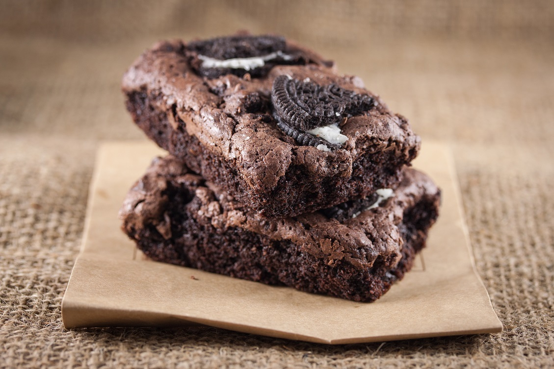 Vegan Healthy Oreo Brownies