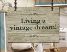 Living a vintage dream!