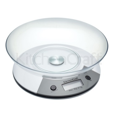Kitchen Craft Add 'N' Weigh Electronic Scales 3Kg