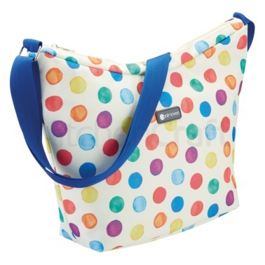 Coolmovers Spot Print 5 Litre Cross Body Cool Bag