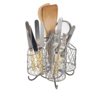 Kitchen Craft Wire Utensil Holder