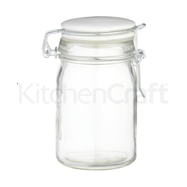 Home Made Clip Top 230ml Glass Jar
