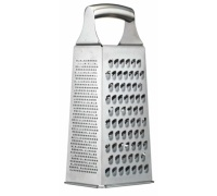 MasterClass Etched Stainless Steel Four Sided Box Grater