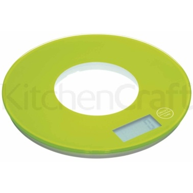 Colourworks Green Electronic Kitchen Scales