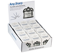 AnySharp Display of 12 Knife Sharpener Pro
