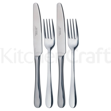 MasterClass Dinner Knife & Fork