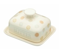 Classic Collection Ceramic Covered Butter Dish