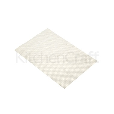 KitchenCraft Woven Metallic Gold Placemat