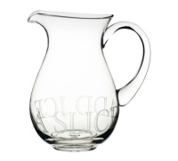Artesà Glass Pitcher