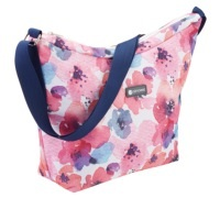 KitchenCraft Floral Print 5 Litre Cross Body Cool Bag