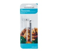 KitchenCraft Stainless Steel Easy Read Meat Thermometer