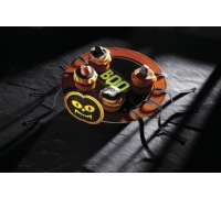 Spookily Does It Fold Up Card Spider Cake Stand