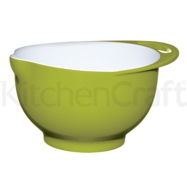 Colourworks Large Green Melamine Two Tone Mixing Bowl