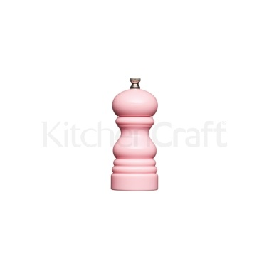MasterClass Small 12cm Pastel Pink Salt/Pepper Mill