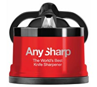 AnySharp Red Knife Sharpener Pro