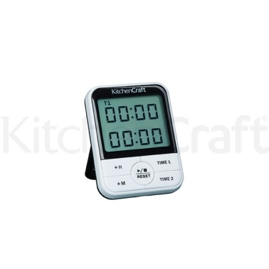 Kitchen Craft Dual Event Digital Timer