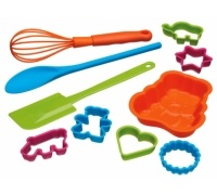 Let's Make Children's 10 Piece Baking Set