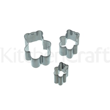 Sweetly Does It Set of 3 Bear Fondant Cutters