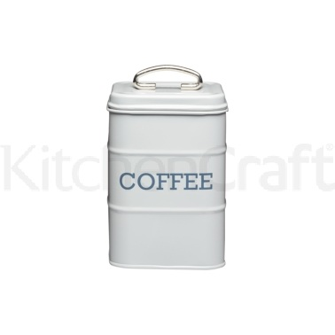 Living Nostalgia French Grey Coffee Tin