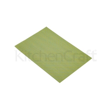 Kitchen Craft Woven Green & Black Weave Placemat