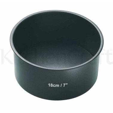 Master Class Non-Stick 18cm Loose Base Deep Cake Pan