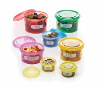 KitchenCraft Healthy Eating Stacking Portion Control Pots