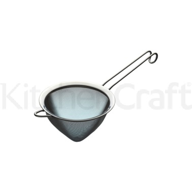 KitchenCraft Stainless Steel 15cm Fine Mesh Conical Sieve