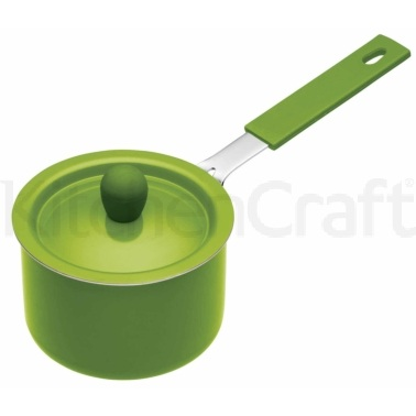 Colourworks Green Mini Saucepan with Soft Grip Handle