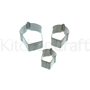 Sweetly Does It Set of 3 Cupcake Fondant Cutters