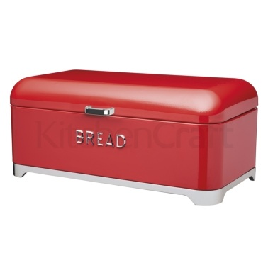 Lovello Red Bread Bin