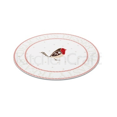 Little Red Robin Porcelain Platter