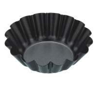 Kitchen Craft Non-Stick Mini Fluted Tart Pan